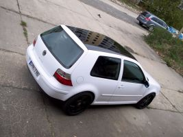 483 VW Golf 4 Vollverklebung