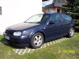 481 VW Golf 4 Vollverklebung vorher