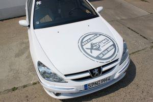 478 Peugeot 607 Vollverklebung + Design