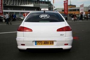474 Peugeot 607 Vollverklebung + Design