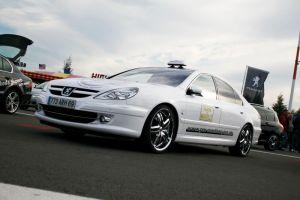 473 Peugeot 607 Vollverklebung + Design
