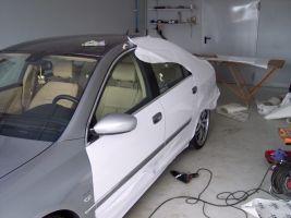 471 Peugeot 607 Vollverklebung + Design