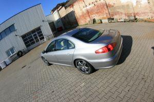 469 Peugeot 607 Vollverklebung + Design vorher