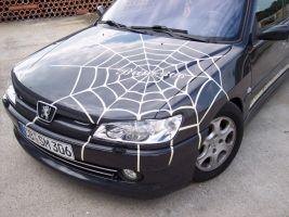 466 Peugeot 306 Spinnennetzdesign