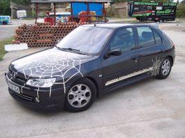 465 Peugeot 306 Spinnennetzdesign