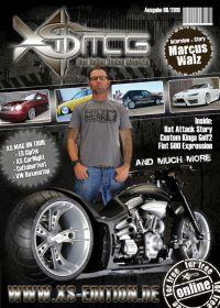 193 Cover und gesamte Layouterstellung des XS MAG www.xs-edition.de