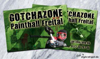 188 Visitenkarten Gotchazone Freital
