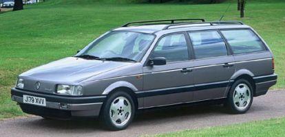 01 VW Passat vorher