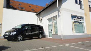 170 Schaufensterbeschriftung Taxi Schymanowski