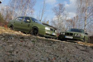 417 Design Verklebung VW Vento & 5er BMW