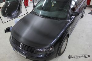 416 Carbonfolie Motorhaube VW Passat