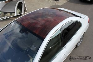 415 Digitaldruck Dach in Holzoptik