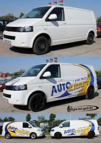 412 VW T5 Firmenwerbung + Design mit Digitaldruckfolie