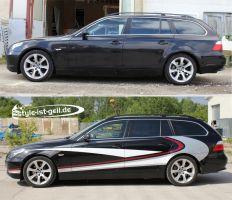 411 Designverklebung BMW 5er E60