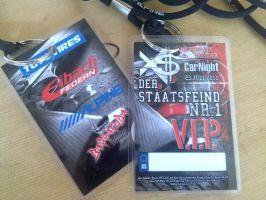 154 VIP Karten XS CarNight 23.07.2011