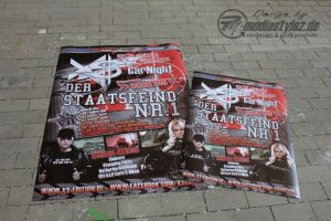 152 Entwurf XS-CarNight Poster