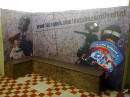 150 Wandgestaltung FunSportPark Dresden