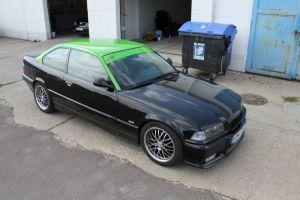 400 Teilfolierung BMW Coupe