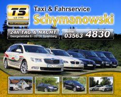 135 Werbeposter Taxi Schymanowski