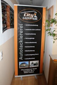 120 Roll Up Banner
