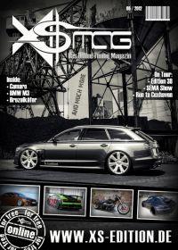 105 Cover und gesamte Layouterstellung des XS MAG www.xs-edition.de