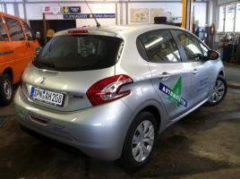 337 Werbebeschriftung Peugeot 208