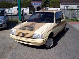 500 Peugeot 205 Vollverklebung