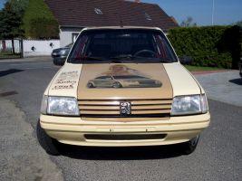 498 Peugeot 205 Vollverklebung