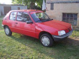 497 Peugeot 205 Vollverklebung vorher