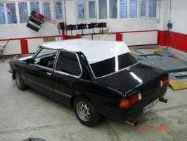 490 BMW Dachfolierung