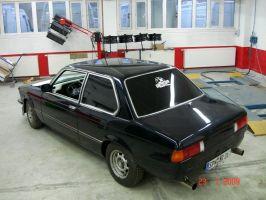 489 BMW Dachfolierung